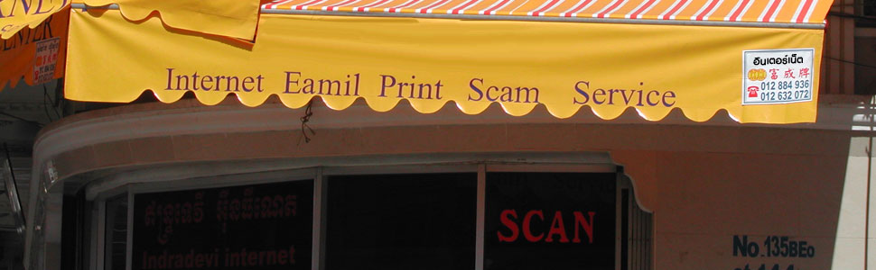 Thailand Scams header image 1
